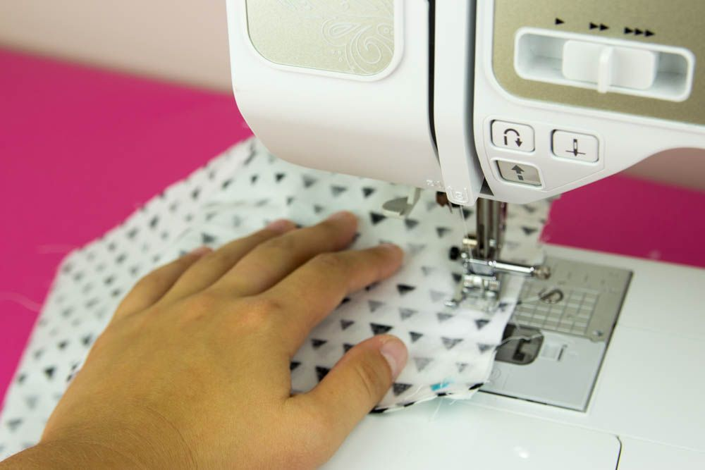 Cricut Maker Sewing Project How To Sew A Small Basket Sewing Beauteous First Sewing Machine Project