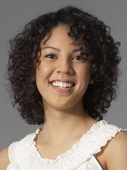 Short Hairstyles For Curly Frizzy Hair | http://www.short-haircut ...