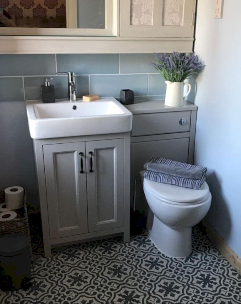40 modern small bathroom decor ideas on a budget bathroom decor rh pinterest com