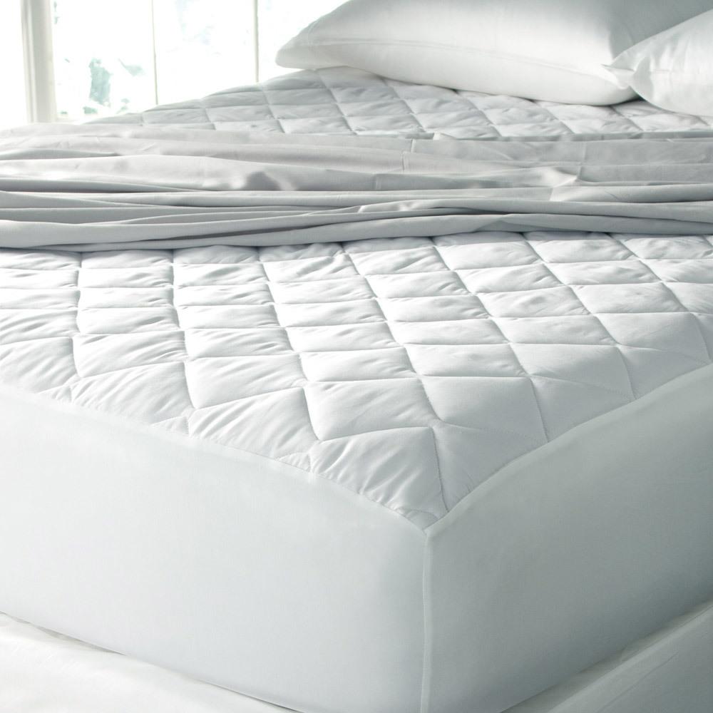 Luxury Cinchfit Mattress Pad Temperature Regulating Quahog Bay
