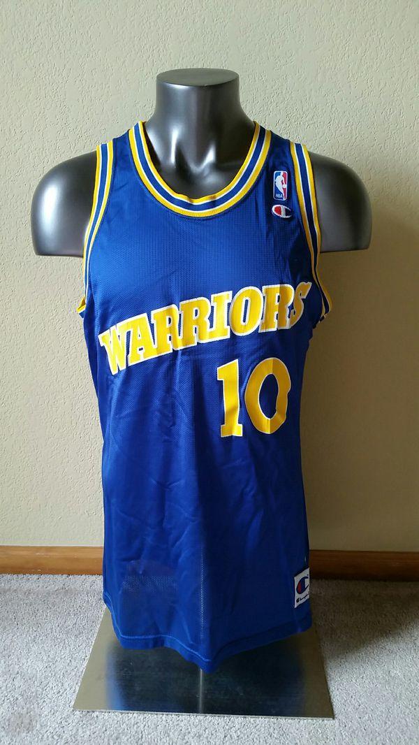 old school warriors jersey