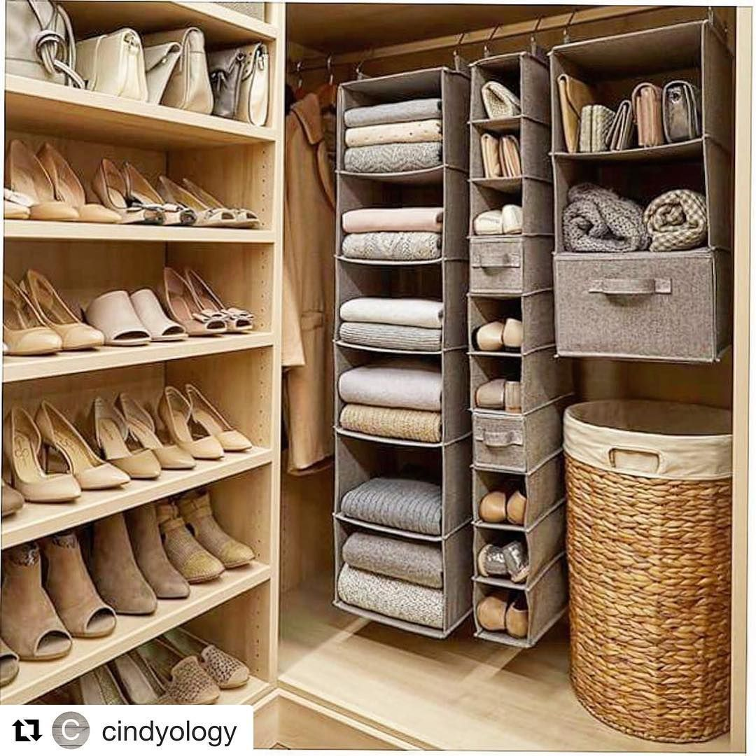 4 373 Likes 30 Comments Duzeniseviyorum Duzeni Seviyorum On Instagram Repost Apartment Closet Organization Shoe Organization Closet Closet Apartment