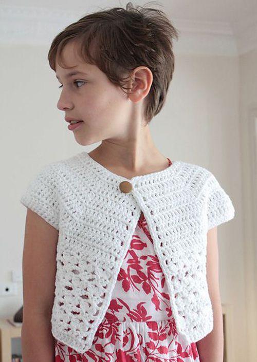 Bebop Cardi - Free Pattern (Crochet For Children) | Ganchillo ...