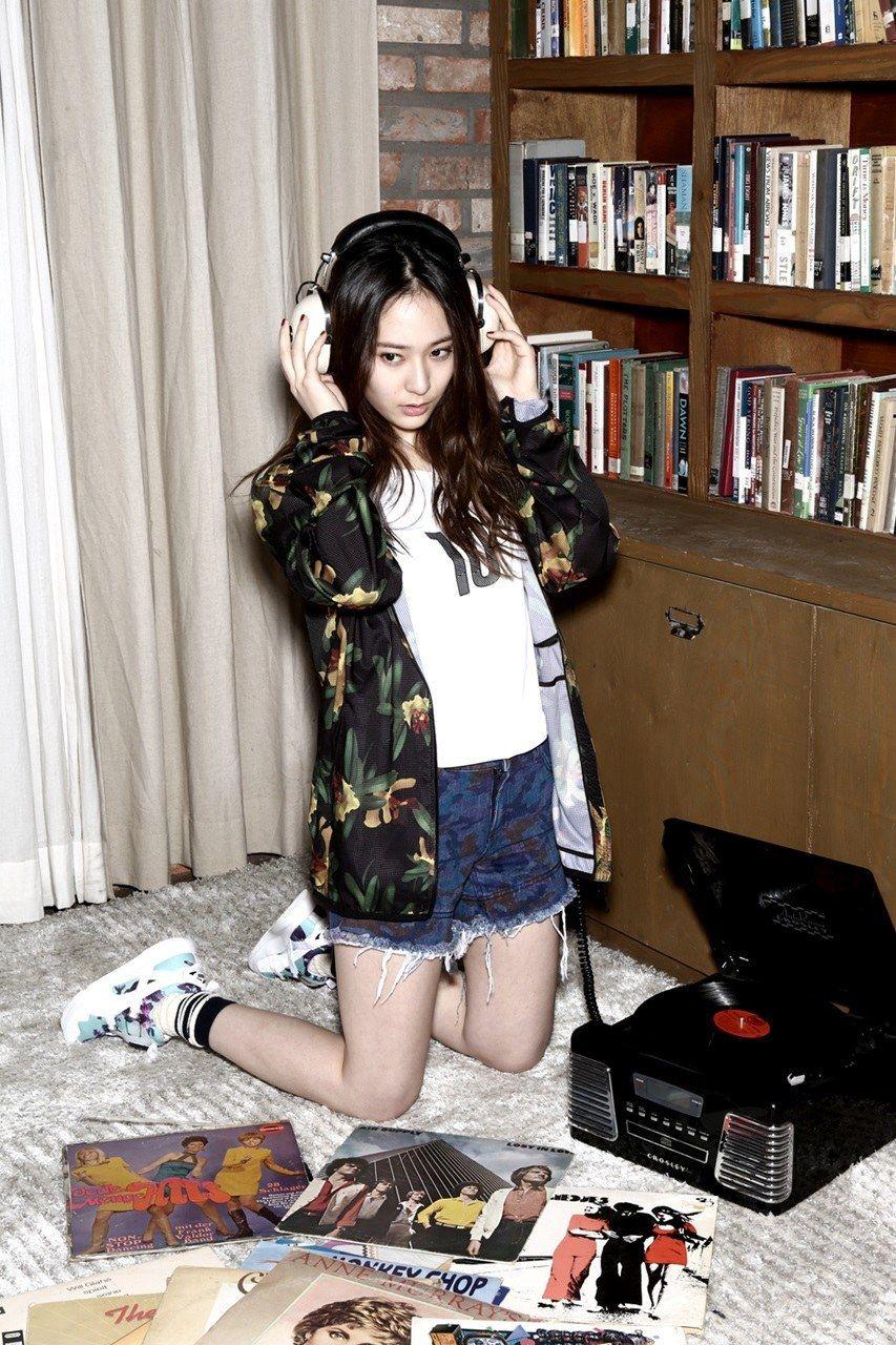 F X Krystal And Ahn Jae Hyun Puma Magazines