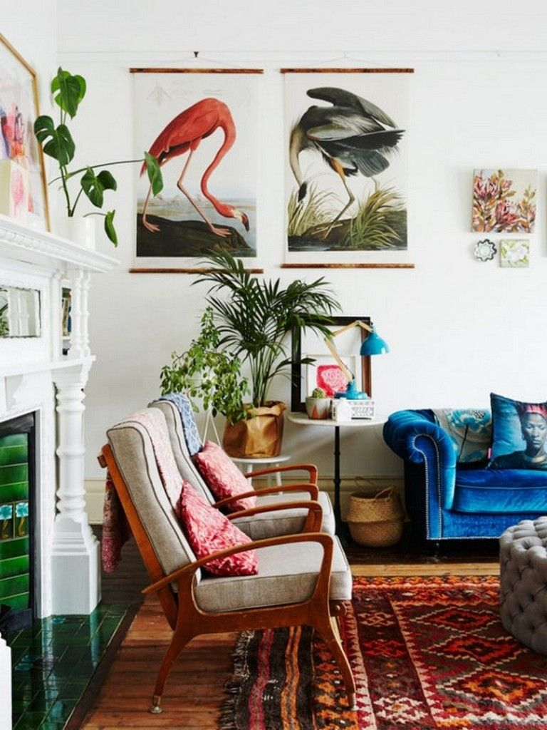 135 heavenly living room design ideas in eclectic style living rh pinterest com