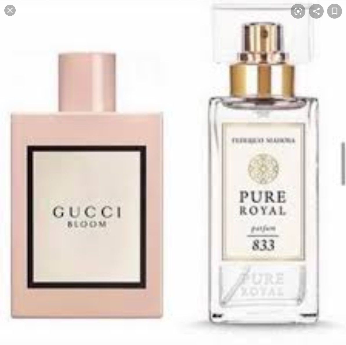 Gucci Bloom inspired Pure Royal 20   Gucci bloom, Fm fragrances ...