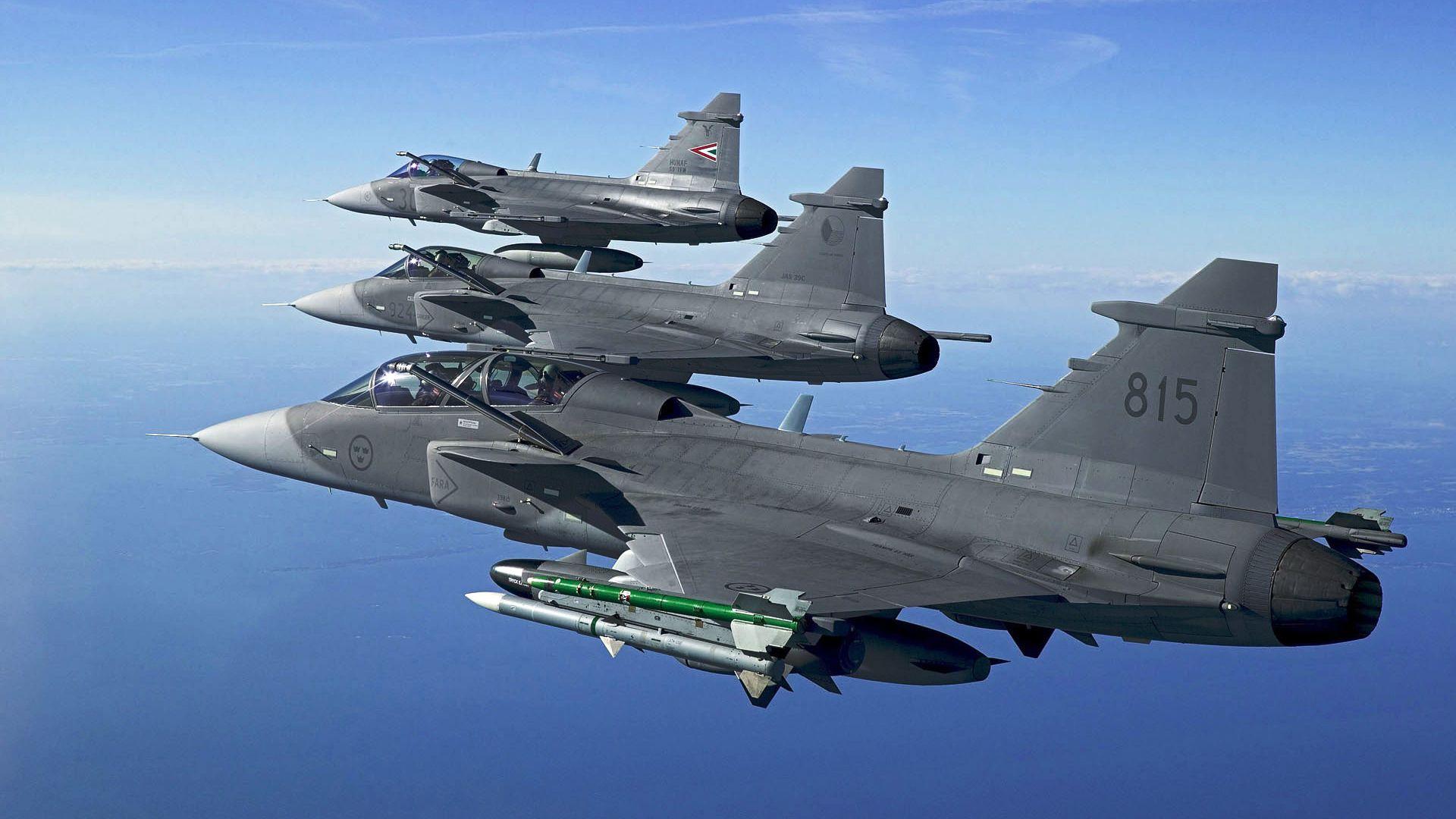 saab jas gripen flight fighter aircraft saab jas 39 gripen flight