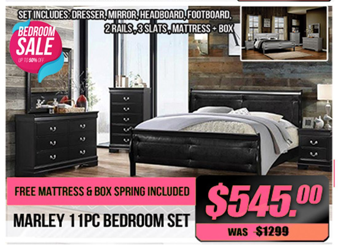 bedroom clearance sale marley 11pc bedroom set is down to 545 rh pinterest com