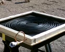 Solar Hot Water Shower Solar Hot Water Solar Heating Solar Energy Diy
