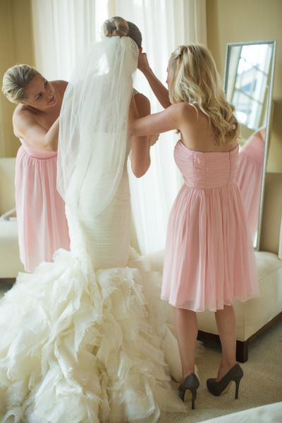 Beautiful bride Whitney and her husband Jon celebrate their special day! Photos were shot by Amanda Suanne Photography.