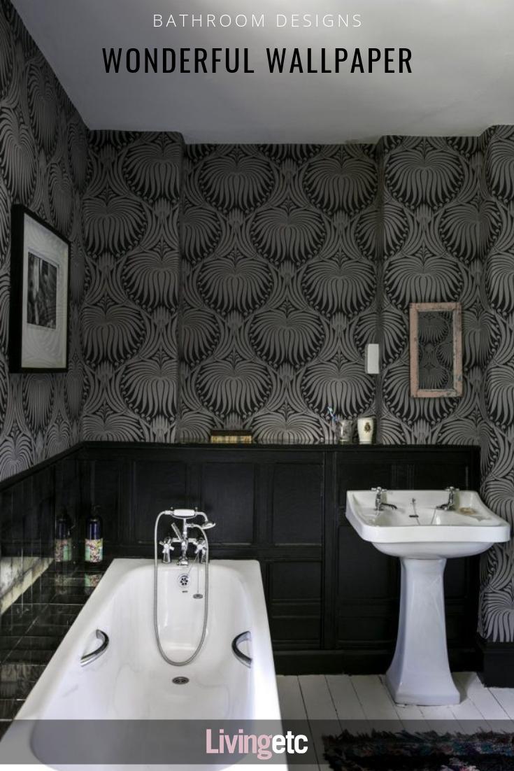 List of the Cool of Black Wallpaper Bathroom for Oppo 2020 from livingetc.com