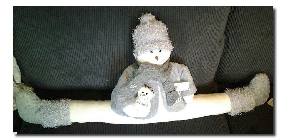 Snowman draft excluder