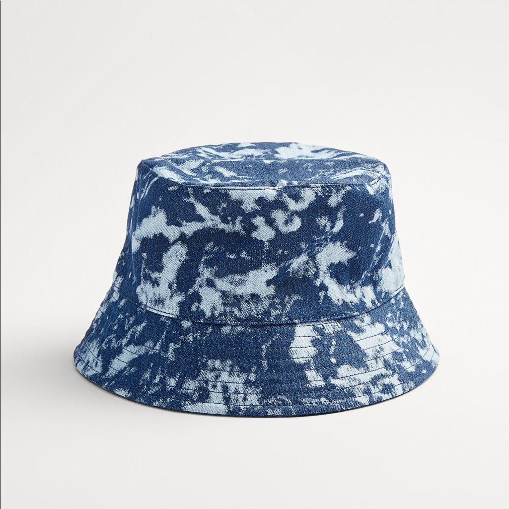 Zara Reversible Tie Dye Bucket Hat In 2021 Tie Dye Hat Tie Dye Bucket Hat Hats