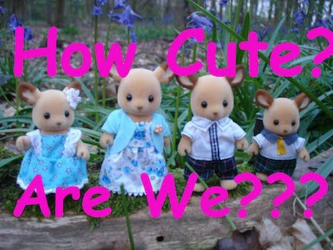 Calico Critters Red Deer Family Review