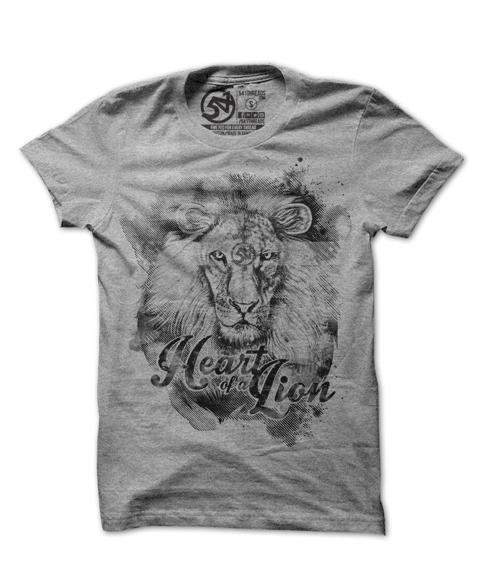 Men's Heart of a Lion