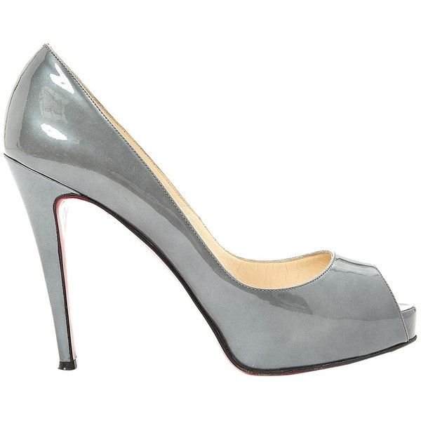 Pre-owned - Very Privé leather heels Christian Louboutin 0RaVgv109c