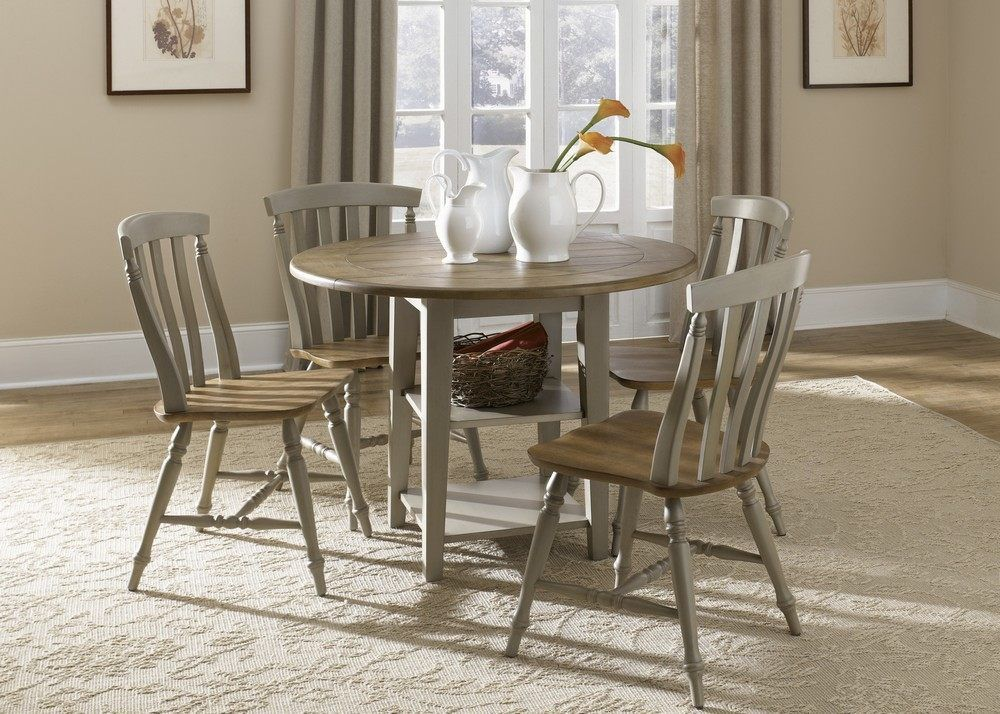Antique Dining Room Sets  Al Fresco 5 Piece 42X42 Round Fascinating Round Dining Room Table For Sale Inspiration