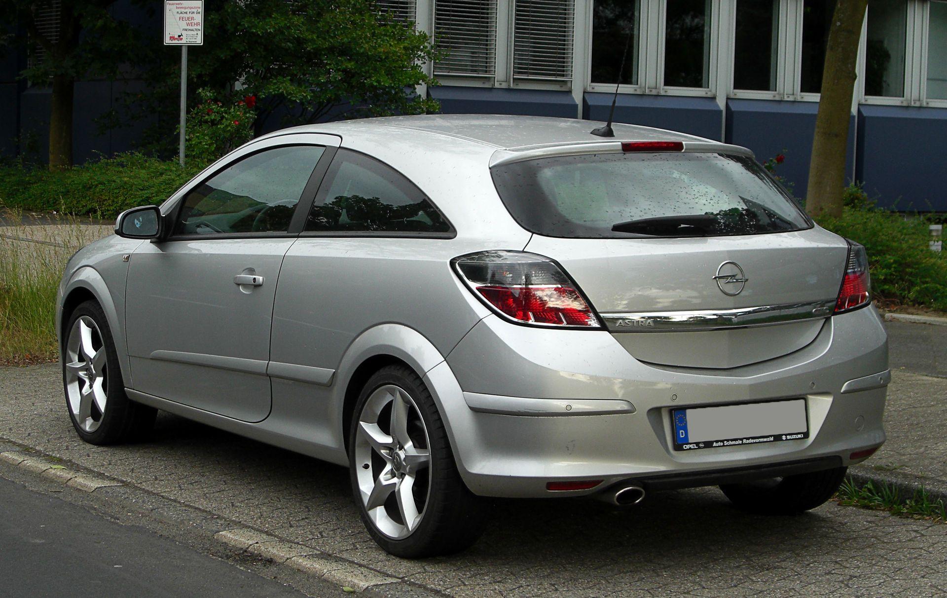 Opel Astra Gtc H Facelift Heckansicht 28 Mai 2011 Ratingen Opel Astra H Wikipedia Opel Astra Opel Corsa