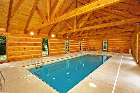 Passion S Peak 1 Bedroom Cabin In Sevierville Luxury Rentals Indoor Pool Cabin Rentals