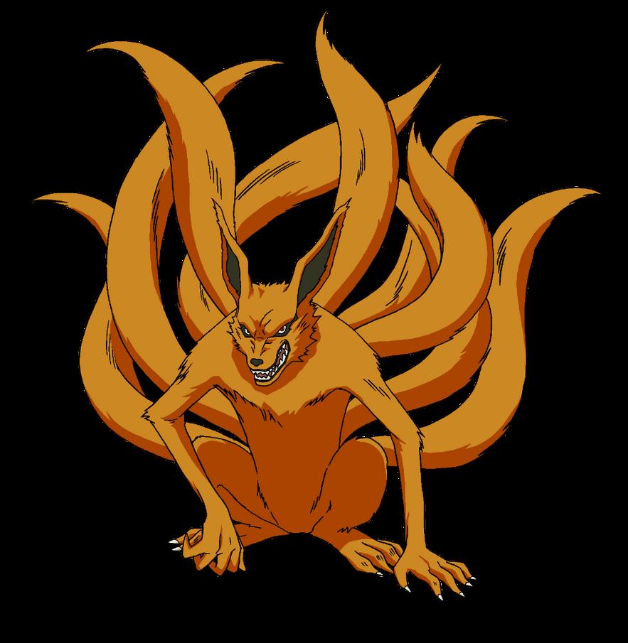 Kyubi Render Naruto Mobile By Maxiuchiha22 On Deviantart Gambar Karakter Seni Seni Anime