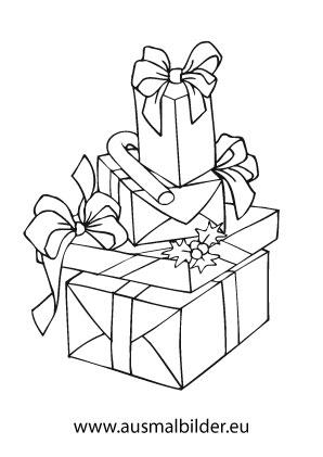 Ausmalbild Geschenke Fur Weihnachten Weihnachten Zum Ausmalen Weihnachtsfarben Weihnachtsmalvorlagen