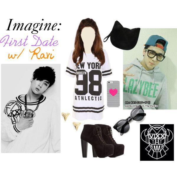 Kpop Imagine First Date W Ravi Vixx Clothes Design Polyvore Fashion Women