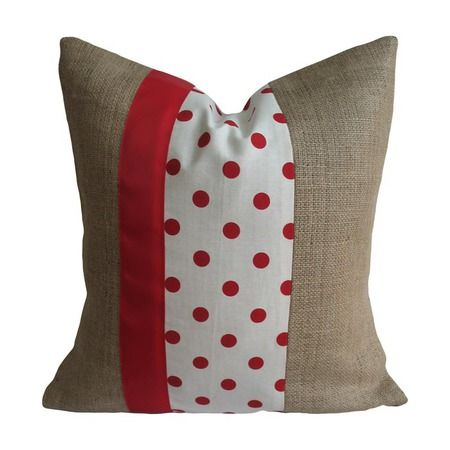 I pinned this Cecilia Pillow Cover in Red from the Connect the Dots event at Joss and Main!