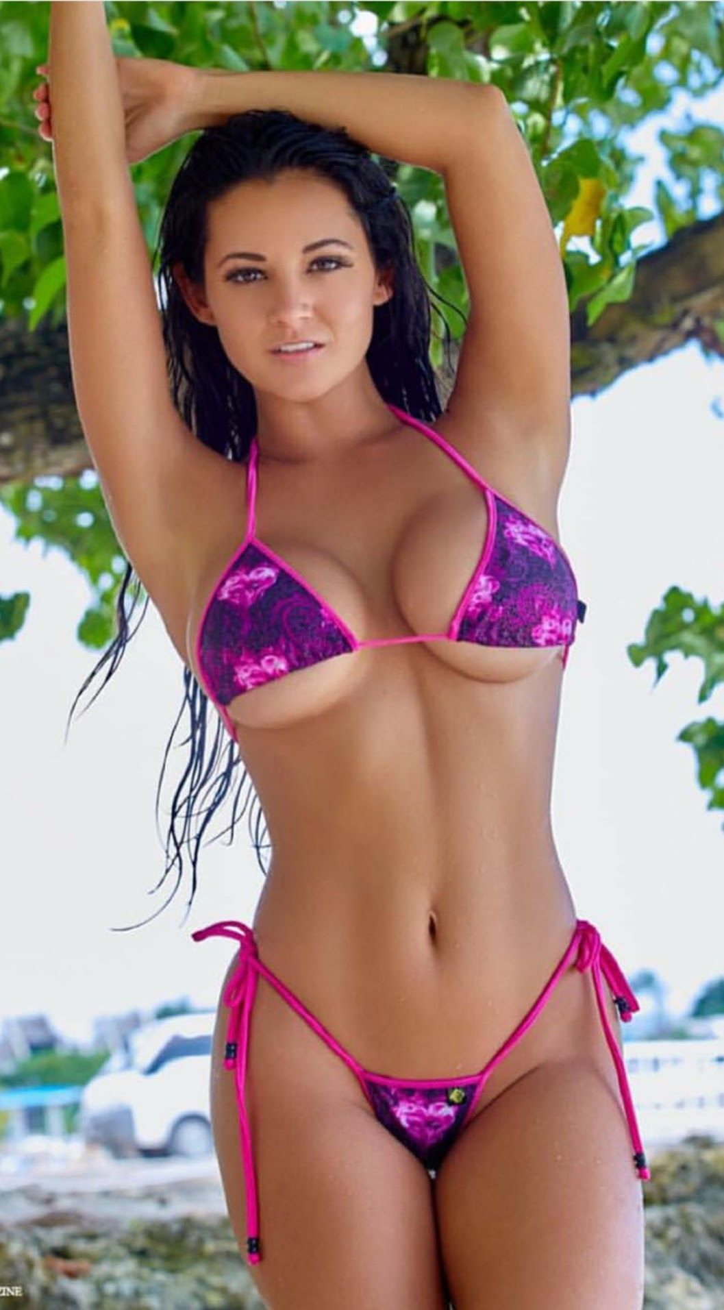 Pink And Purple Swirl Bikini Pashence Marie