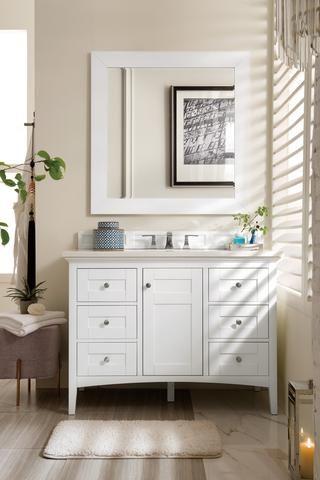 palisades 48 single bathroom vanity in 2019 ba os white vanity rh pinterest com