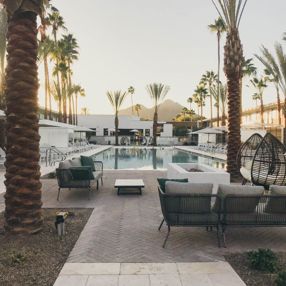 Scottsdale S Newest Hotel Hotel Adeline Hotel Stay The Night