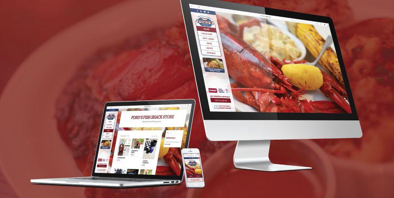 Ford S Fish Shack Mobile Responsive Restaurant Website Www Fordsfishshack Com Restaurant Website Mobile Responsive Web Design