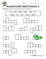 Worksheets Dolch Sight Word Worksheets second grade sight words worksheet word worksheets worksheet