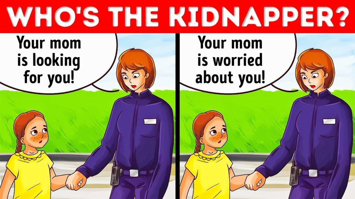 RIDDLES AND SURVIVAL GAMES THAT MIGHT SAVE YOU OR A KID'S