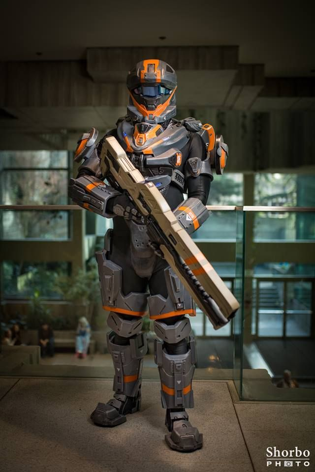 Halo Spartan Recon Armor Creator - Renraku Props | Renraku