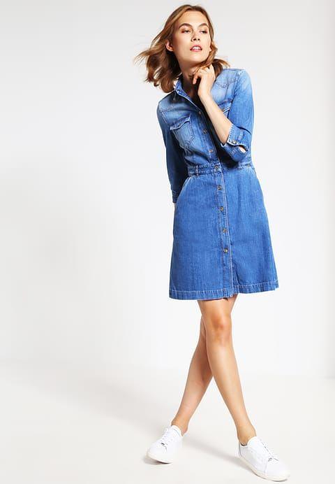 Ein Jeans-Kleid für einen individuellen Look. 7 for all mankind Jeanskleid - blue denim für 259,95 € (01.02.17) versandkostenfrei bei Zalando bestellen.