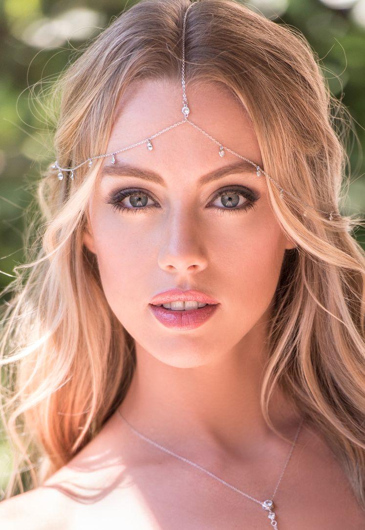 Dakota Cubic Zirconia Drops Headpiece | Chicas