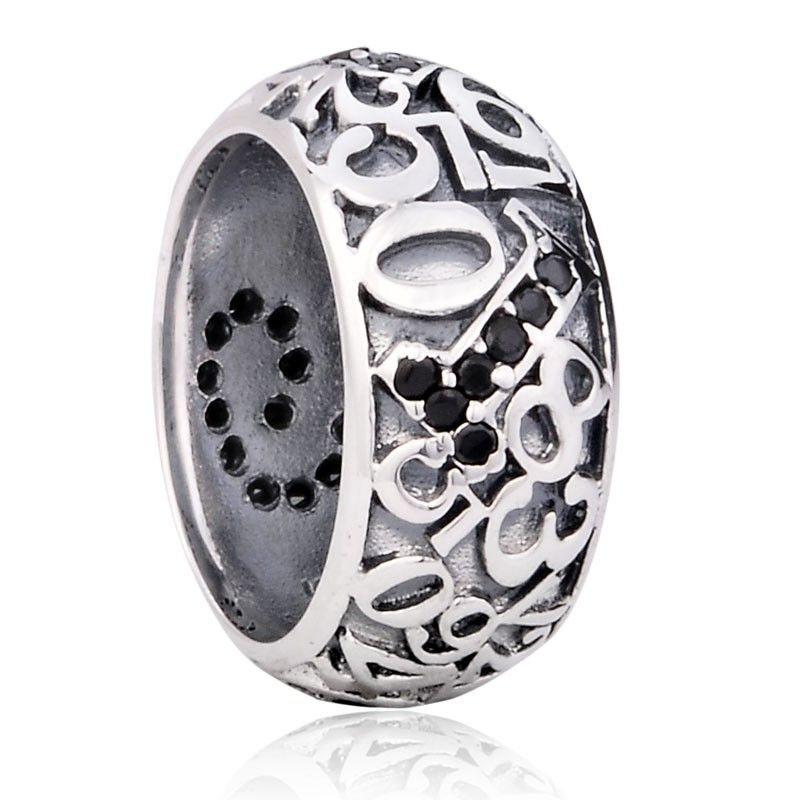925 Sterling Silver Magic Number Ring For Men
