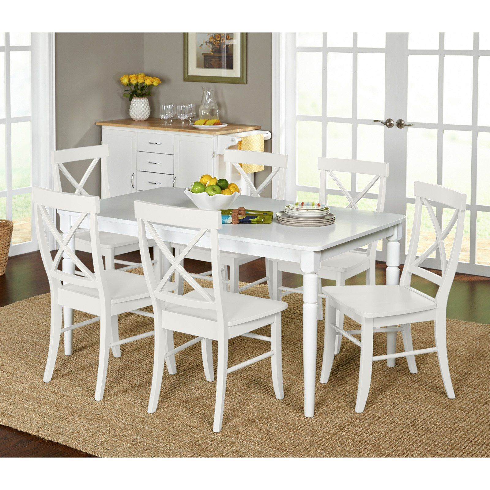 target marketing systems albury 7 piece dining table set in 2019 rh pinterest com