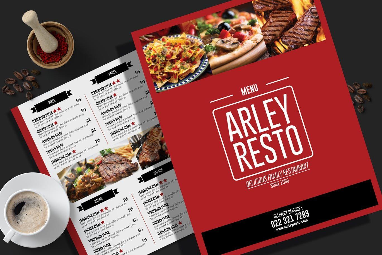 Simple Restaurant Menu Flyer By Aarleykaiven On Menu Flyer Food