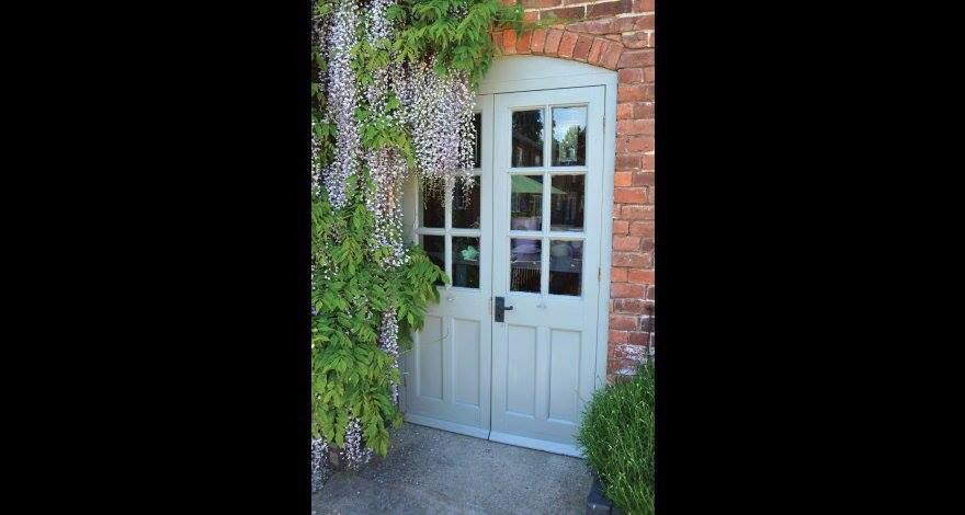 update your double doors with a lick of paint and new ironmongery rh pinterest com