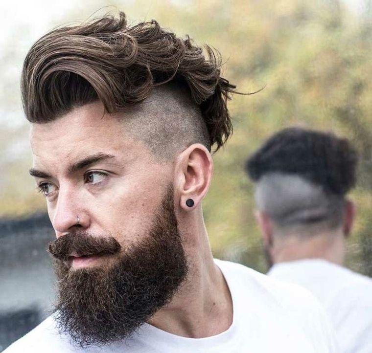 Peinados Modernos Para Hombres Dapper Y Hipster Para El 2018 - Peinados-rapados-hombre