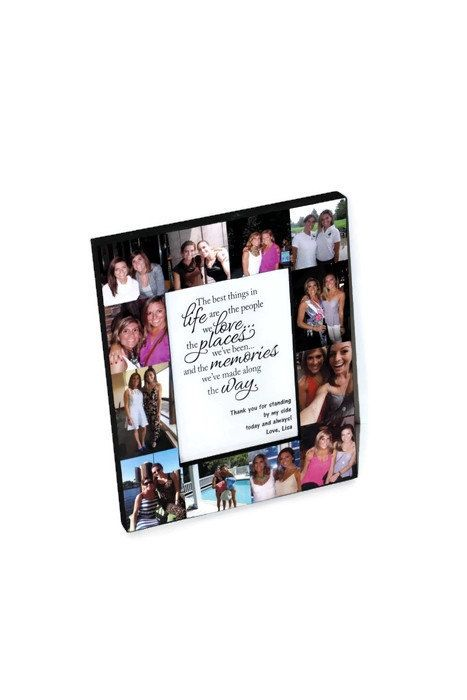 Moms Day Gift Personalized Photo Frame Sisters Bridesmaid Picture ...