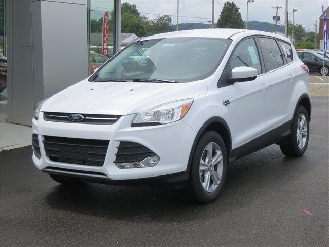 """New 2014 Ford Escape, great gas mileage for running around town!  I wish the Edge and Explorer had some of the new 2014 features!  But love it so far, just need to get used to switching between 3 different Ford SUV's!  I still like the explorer, with """"true"""" 4 wheel drive for several different conditions.  Snow mode, is like driving on dry pavement, until it's """"stopping"""" time."""
