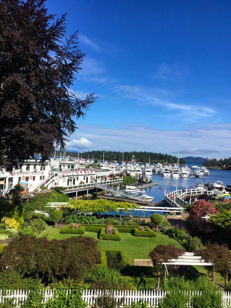 Roche Harbor-view from Hotel de Haro