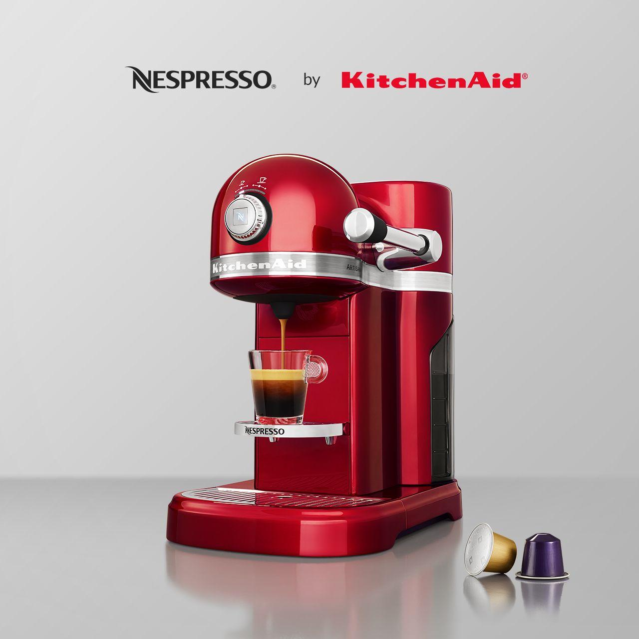 design meets taste scopri la nuova macchina nespresso by kitchenaid rh pinterest co uk
