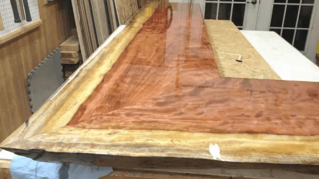 finisaj pentru blaturi de lemn cu rasina epoxidica house bar top rh pinterest com