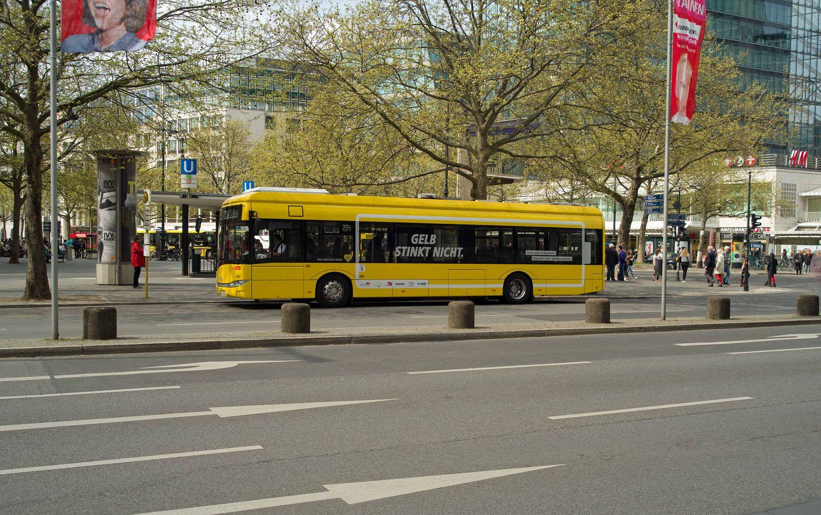 Berlin BVG Bus E Bus 2015
