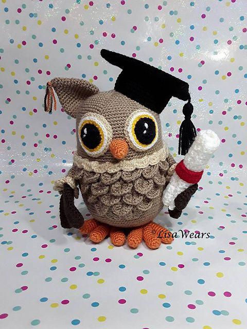 ADORABLE OWL   TOYs - Owl   Pinterest   Tier-muster häkeln, Garn ...
