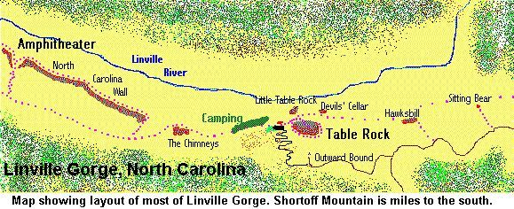 linville gorge trail map - Google Search | RKJourneyman. | Pinterest ...