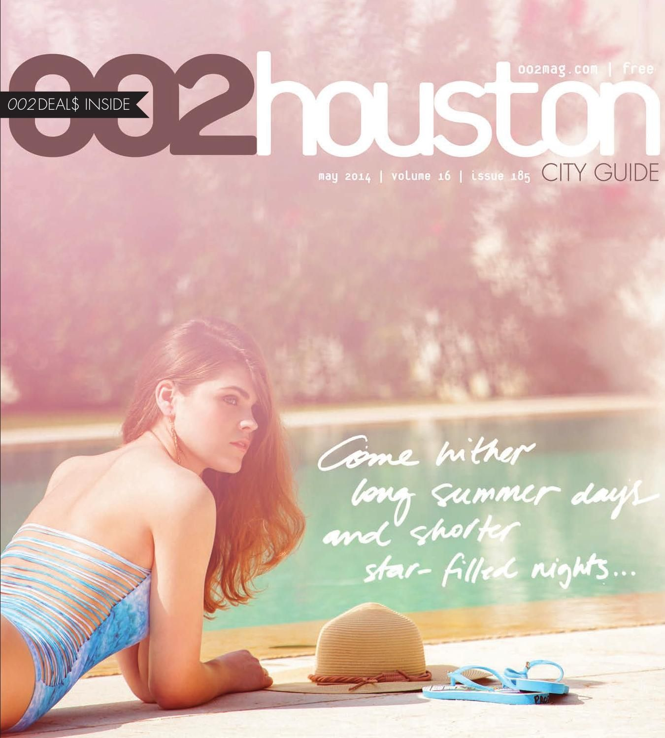 002houston magazine May 2014  May 2014 issue